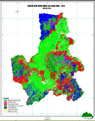 Phân tích nguyên nhân mất rừng, suy thoái rừng đề xuất giải pháp QLBVR tỉnh Đắk Nông