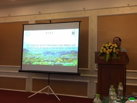 "Consultation workshop ""Project proposal supporting ability, awareness about sustainable forset management and sustainable forest management certificates"""
