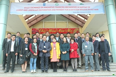 "International workshop ""Study Exchange on Innovative Financing Mechanisms in Support of Forest and Landscape Restoration and Payment for Ecosystem Services in Viet Nam"" in Ha Noi"