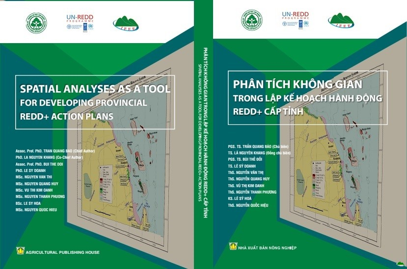Spatial Analysis as a Tool for Developing Provincial REDD+ Action Plans Handbook